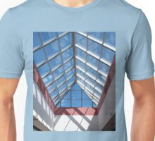 View from below the transparent roof of the glass Unisex T-Shirt