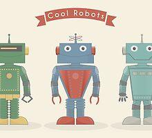 Vintage Robots by Gianluca D.Muscelli