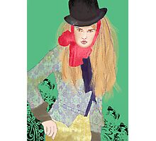 female dandy Photographic Print