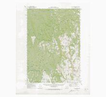 USGS Topo Map Oregon Flag Prairie 282498 1970 62500 One Piece - Long Sleeve