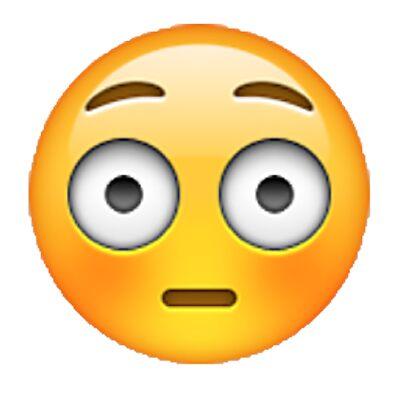 embarrassed emoji sticker stickers by youtubemugs