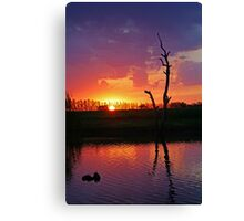 Elmore Sunset Canvas Print