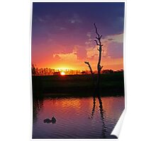 Elmore Sunset Poster