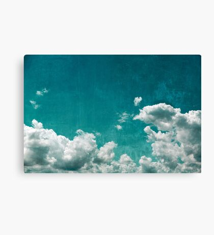 Grunge sky Canvas Print
