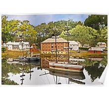 Old Hobart Town Model Village, Richmond Poster