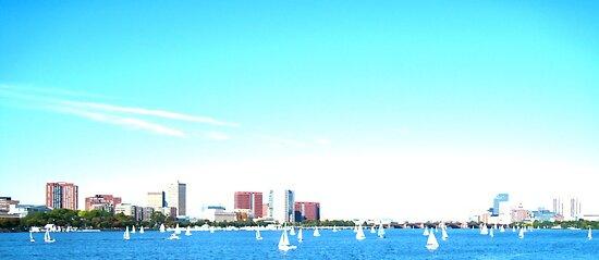 Sail Away With Me - Charles River - Boston, MA by MalinRawl