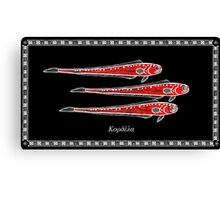 Cepola macrophthalma - Red Bandfish Canvas Print