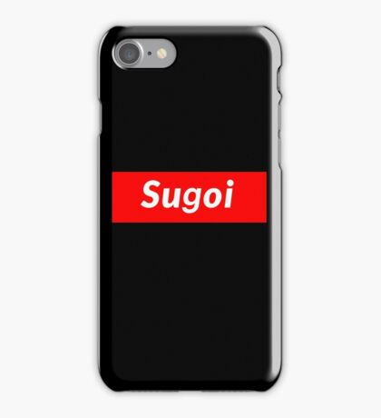 Sugoi iPhone Case/Skin