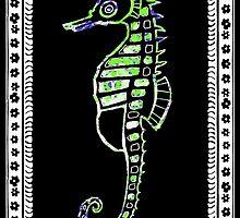 Hippocamus guttulatus -  Sea horse by joancaronil