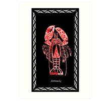 Homarus gammarus - European Lobster Art Print