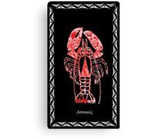 Homarus gammarus - European Lobster Canvas Print