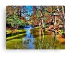 Mill Creek Canvas Print