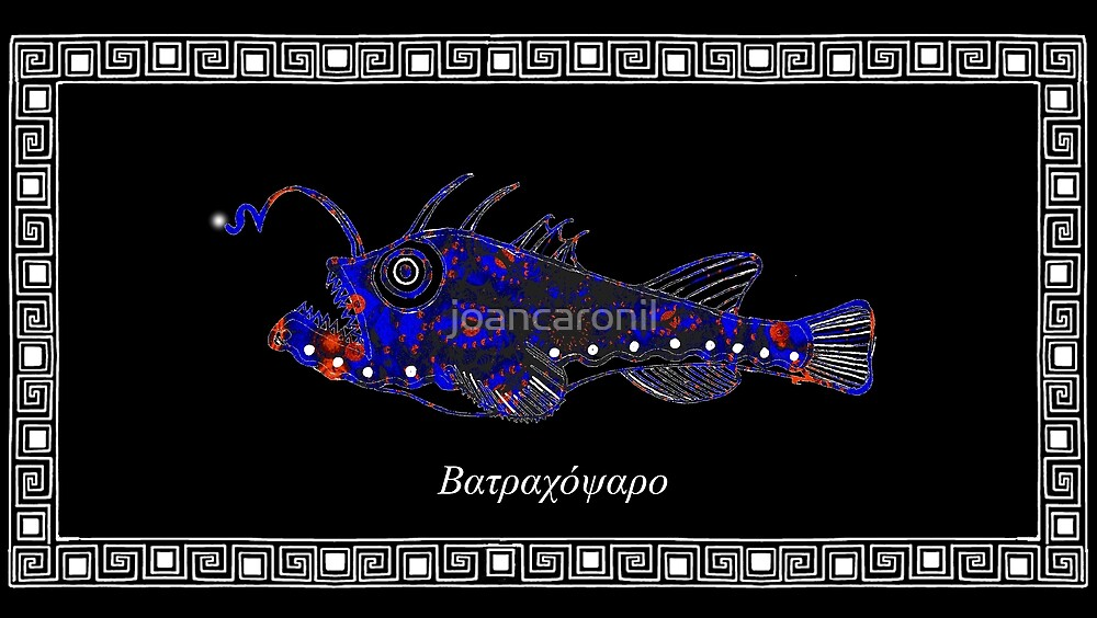 Lophius piscatorius - Angler fish by joancaronil
