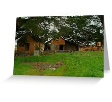 Farm Near Ballan,Victoria Greeting Card