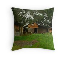 Farm Near Ballan,Victoria Throw Pillow