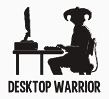 Desktop Warrior Baby Tee
