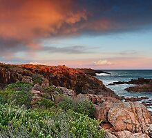 Boat Harbour Sunset - Panorama by Michael Howard