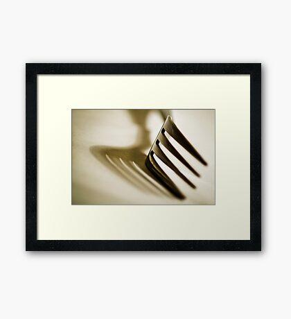 Utensil No1 Framed Print