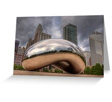 The Bean - Chicago Greeting Card