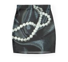 Pearls Mini Skirt