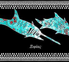 Xiphias gladius - Swordfish, Marlin by joancaronil