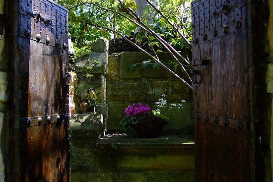 Doorway to the Secret Garden by Gabrielle  Lees