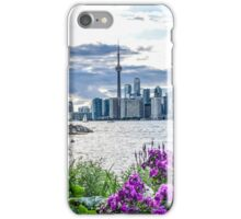 The CN Tower and Toronto skyline iPhone Case/Skin