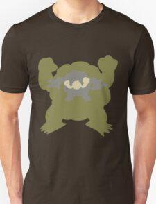 PKMN Silhouette - Geodude Family Unisex T-Shirt