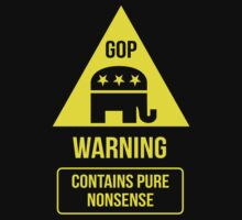 GOP -- Warning Sign by Samuel Sheats