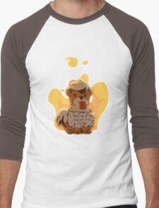 Pokeshaming - Growlithe Men's Baseball ¾ T-Shirt