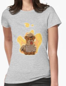 Pokeshaming - Growlithe Womens Fitted T-Shirt