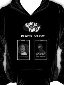 Ninja Sex Party Player Select Screen T-Shirt
