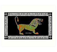 Greek Lion Art Print