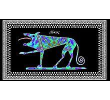 Greek Wolf Photographic Print