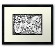Happy Oktoberfest Framed Print