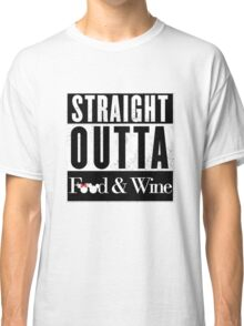Straight Outta Epcot Food and Wine Classic T-Shirt