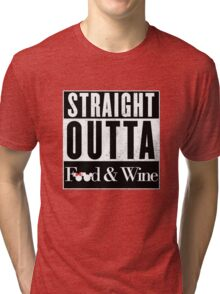 Straight Outta Epcot Food and Wine Tri-blend T-Shirt
