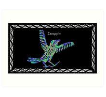 Greek Sparrow Art Print
