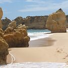 """Pure Beach""  West Coast of Albufeira, Portugal by Anita  Fletcher"