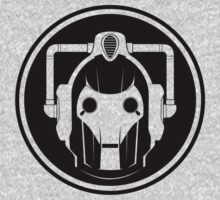 Cyberman Face (Black) by trekspanner