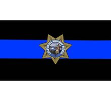 CHP Thin Blue Line by lawrencebaird