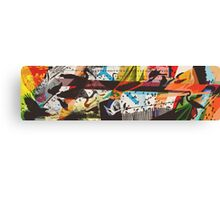 For The Birds Skate Deck Design Canvas Print