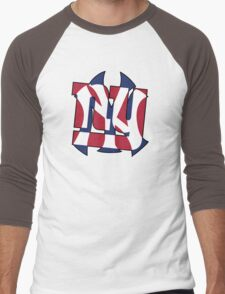 New York Sports teams Men's Baseball ¾ T-Shirt