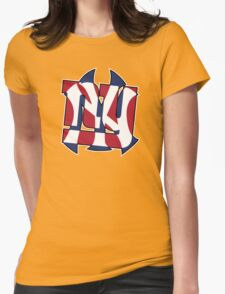 New York Sports teams Womens Fitted T-Shirt