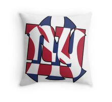 New York Sports teams Throw Pillow