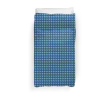 abstract bleu Duvet Cover