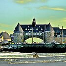 Narragansett Pier Beach - The Towers *featured by Jack McCabe