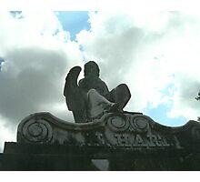 Tomb Statue Photographic Print