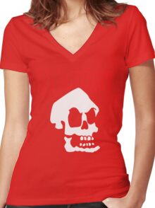 Misfit Murray Women's Fitted V-Neck T-Shirt