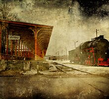Haapsalu Train Station by tutulele